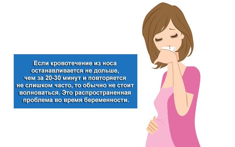 Кров з носа під час вагітності