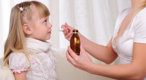 Лікування немовлят препаратом Геделикс інструкція