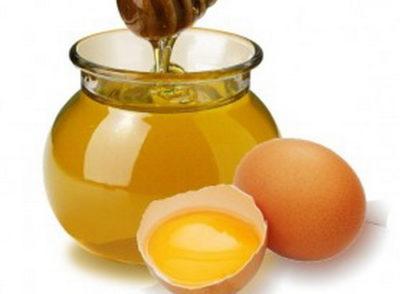Маска для волосся з яйцем і медом Для Росту Волосся