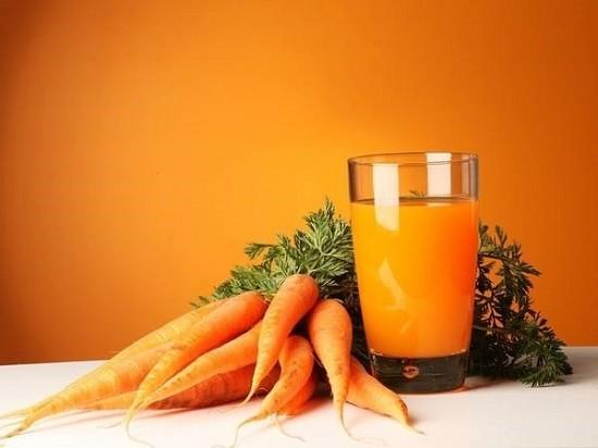 Морквяний сік як засіб лікування нежиті