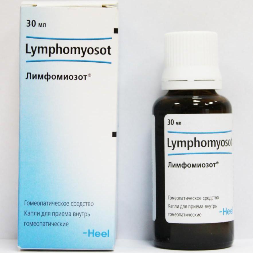 Інструкція по застосуванню препарату Лимфомиозот для дітей та дорослих при аденоїдах