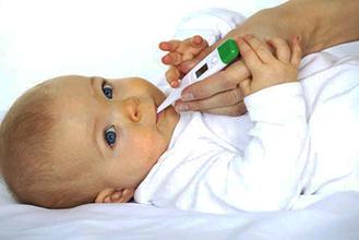 Підвищена температура у дитини при ангіні
