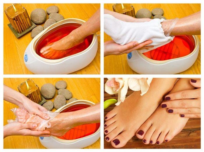 Парафінотерапія в домашніх умовах для рук і ніг