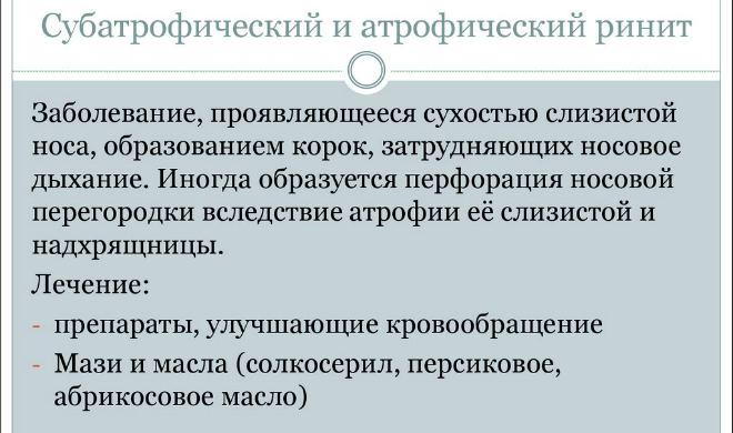 prichini simptomi l kuvannya subatroficheskogo rin tu 1 - Причини симптоми і лікування субатрофического риніту