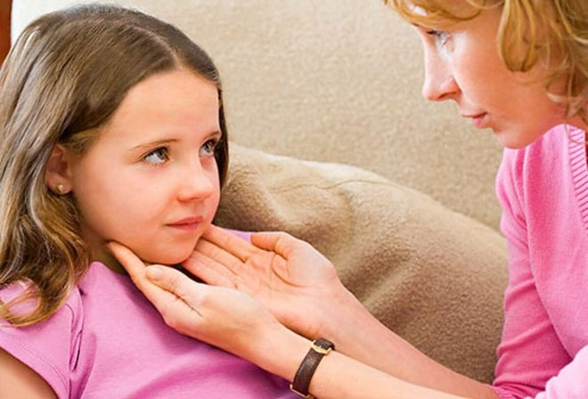 Що робити якщо у дитини збільшені підщелепні лімфовузли