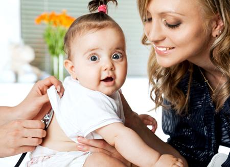 Симптоми пневмонії у немовлят до 1 року – ознаки запалення легенів