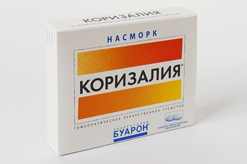 tabletki v d nezhityu korizaliya sklad c na nstrukc ya po zastosuvannyu 1 - Таблетки від нежитю Коризалия: склад, ціна, інструкція по застосуванню