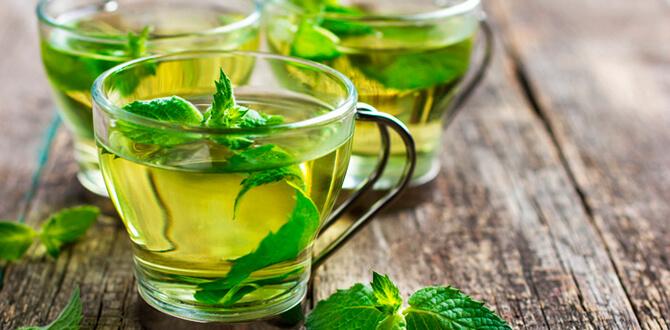 Трав'яні чаї з медом від нудоти і блювоти