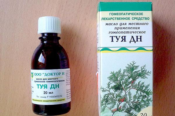 Туя-ГФ гучні краплі для лікування ринітів