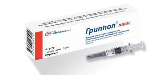 Вакцина Гриппол Плюс захист від вірусу і наслідків грипу