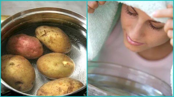 Варто дихати над картоплею при застуді кашлі