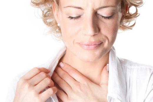 Як лікувати клубок у горлі при остеохондрозі