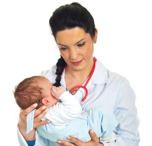 Як лікувати нежить у немовляти