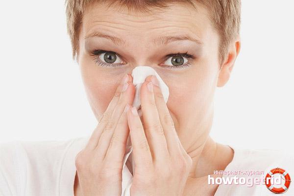 Як повернути нюх при нежиті