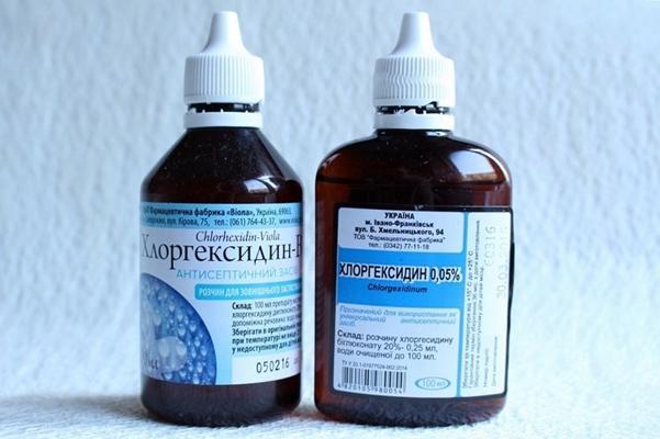 Як правильно полоскати горло Хлоргексидином