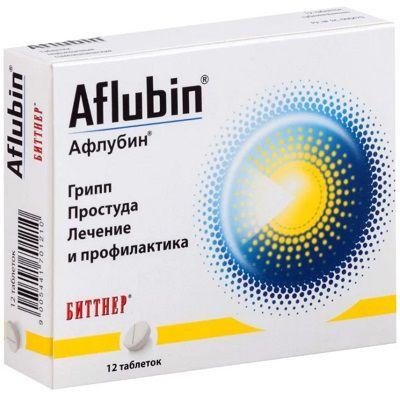 Як приймати афлубін в краплях правильно