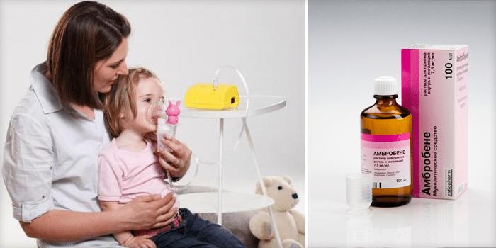 Як приймати Амбробене розчин всередину по інструкції дітям і дорослим