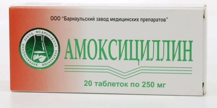 Як приймати амоксицилін при застуді