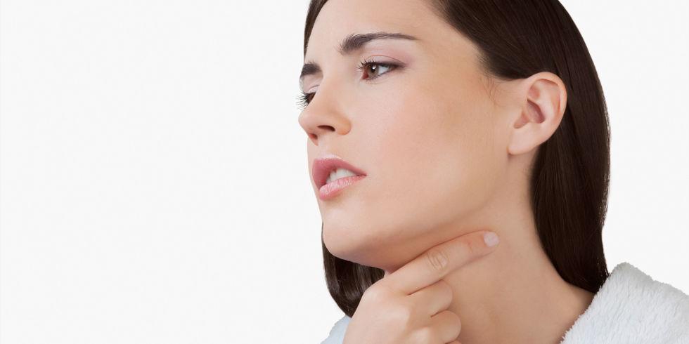 Як промивають мигдалини при тонзиліті
