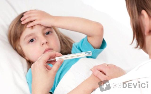 Збити температуру у дитини народними засобами