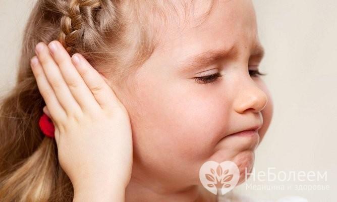 Зовнішній отит у дитини симптоми і лікування